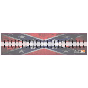Dixie Flag Hawg Tape Decal