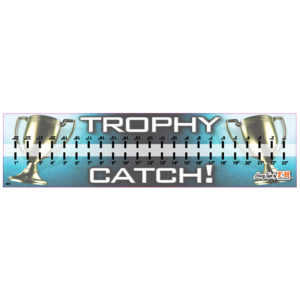 Trophy Catch Hawg Tape Decal
