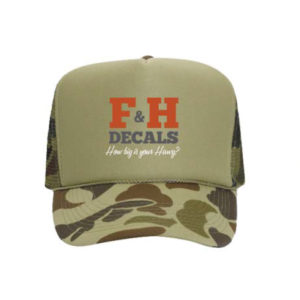 F&H Decals Hawg Hat