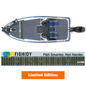 Limited Edition Fishidy Hawg Tape Decal
