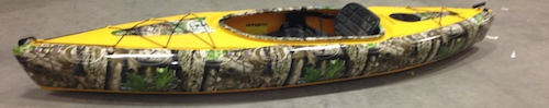 Fresh Catch: F&H Decals Custom Kayak Wraps
