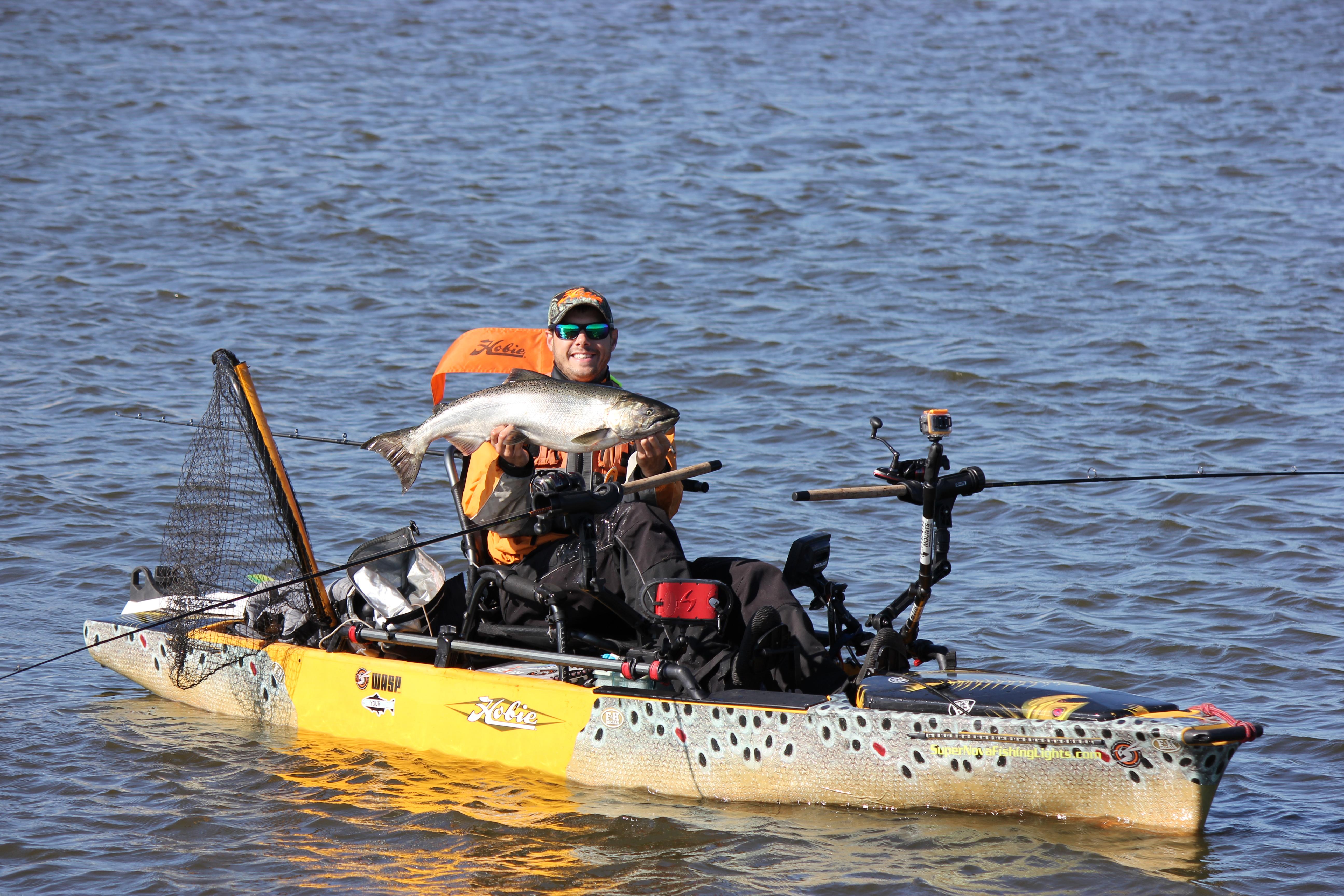B 52 Bomber Wrap Fish Measuring Tape Kayak Wraps