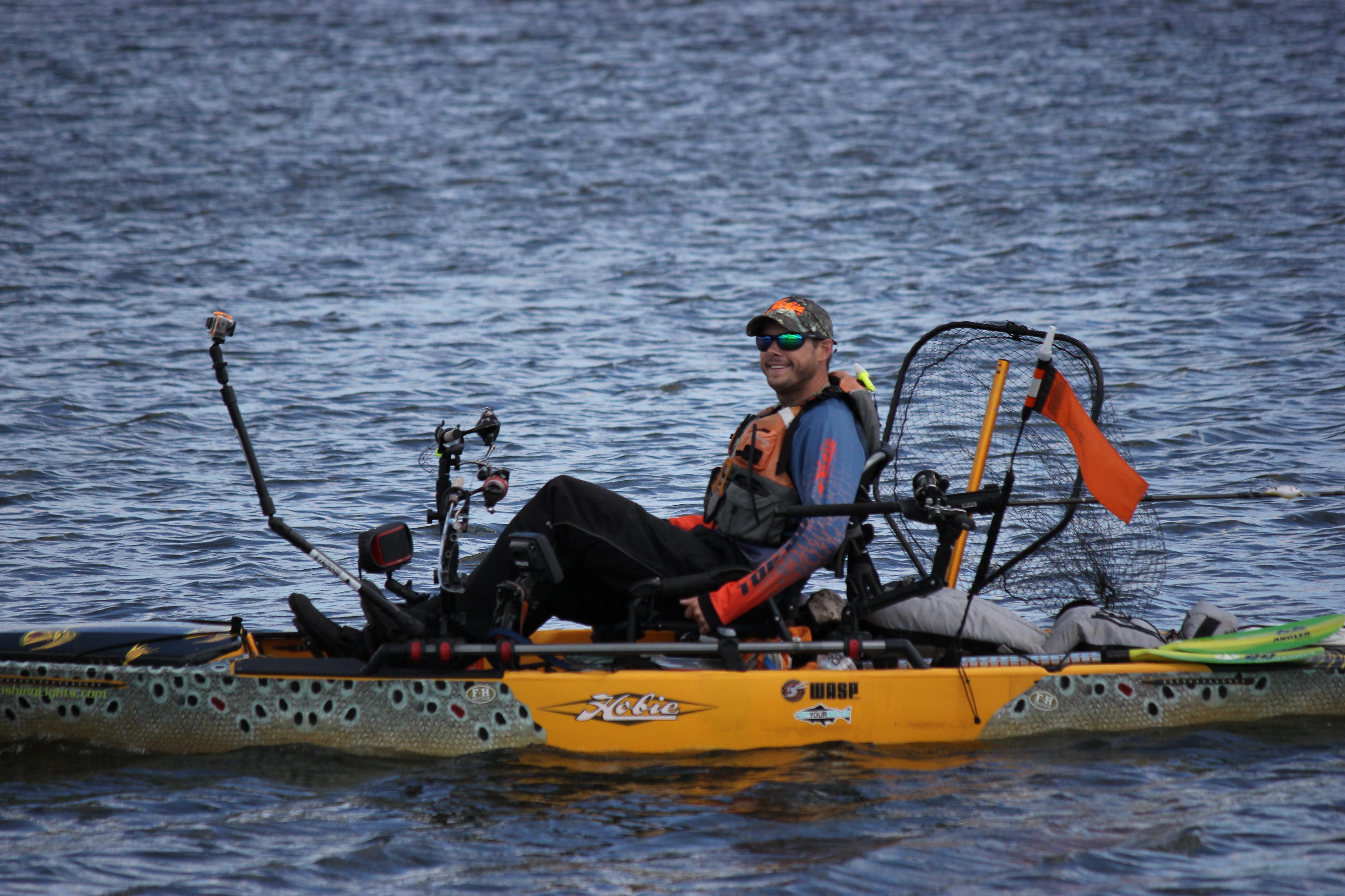 Brown Trout Wrap Fish Measuring Tape Kayak Wraps